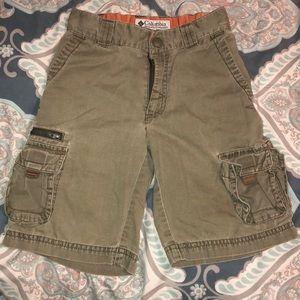 Columbia Sportswear Boys cargo shorts